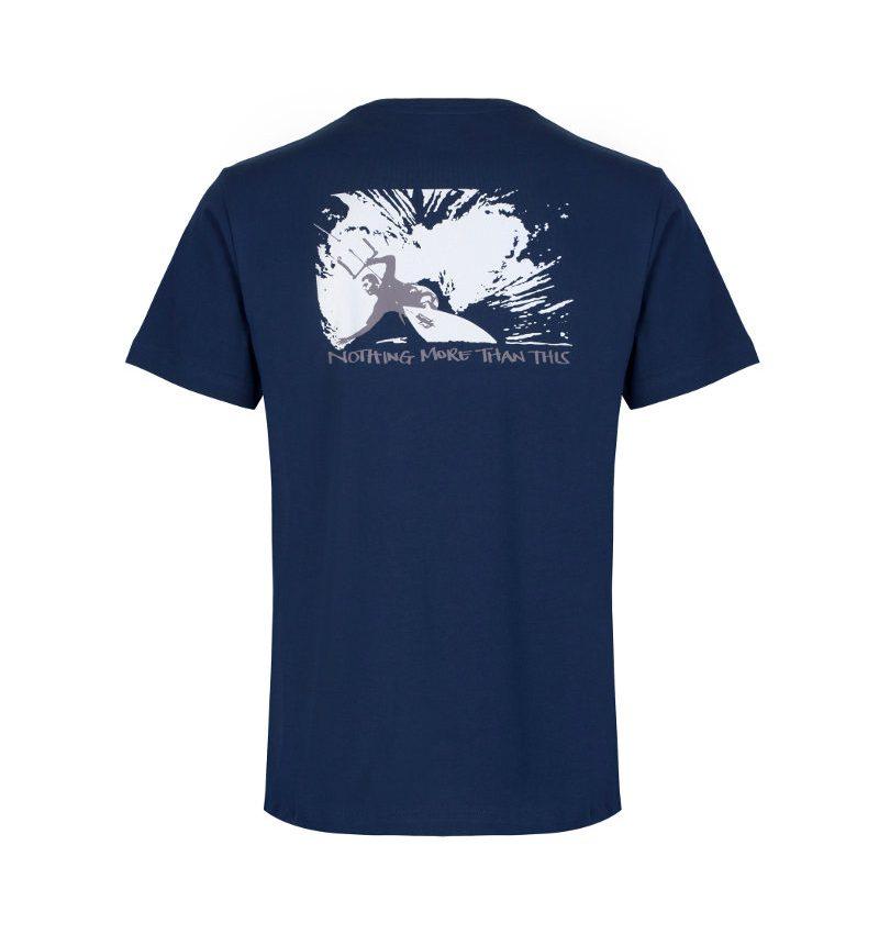 Kite surfing organic cotton t'shirt