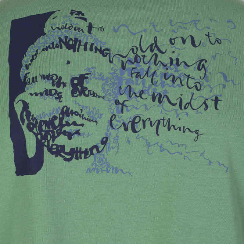 Buddha face organic cotton t'shirt