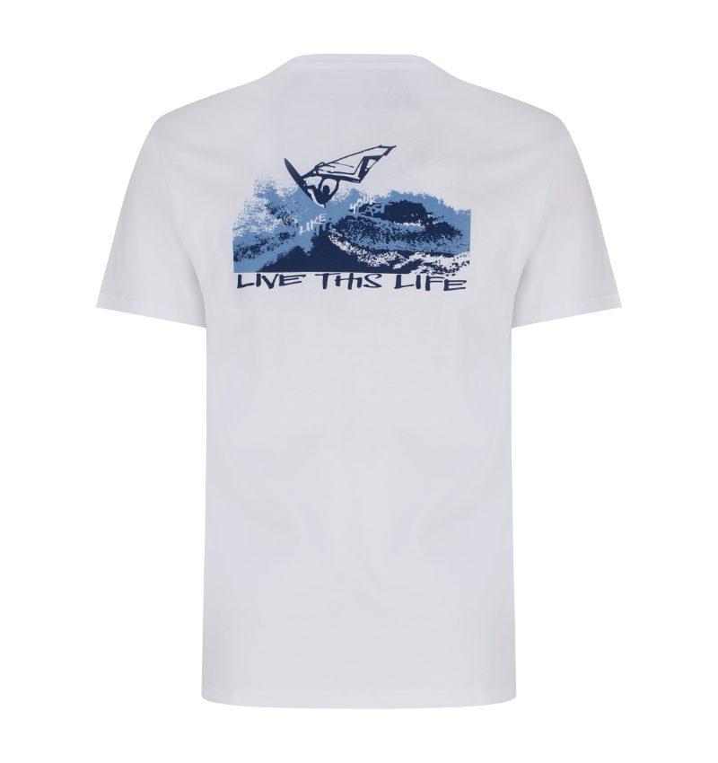 Windsurfing organic cotton t'shirt